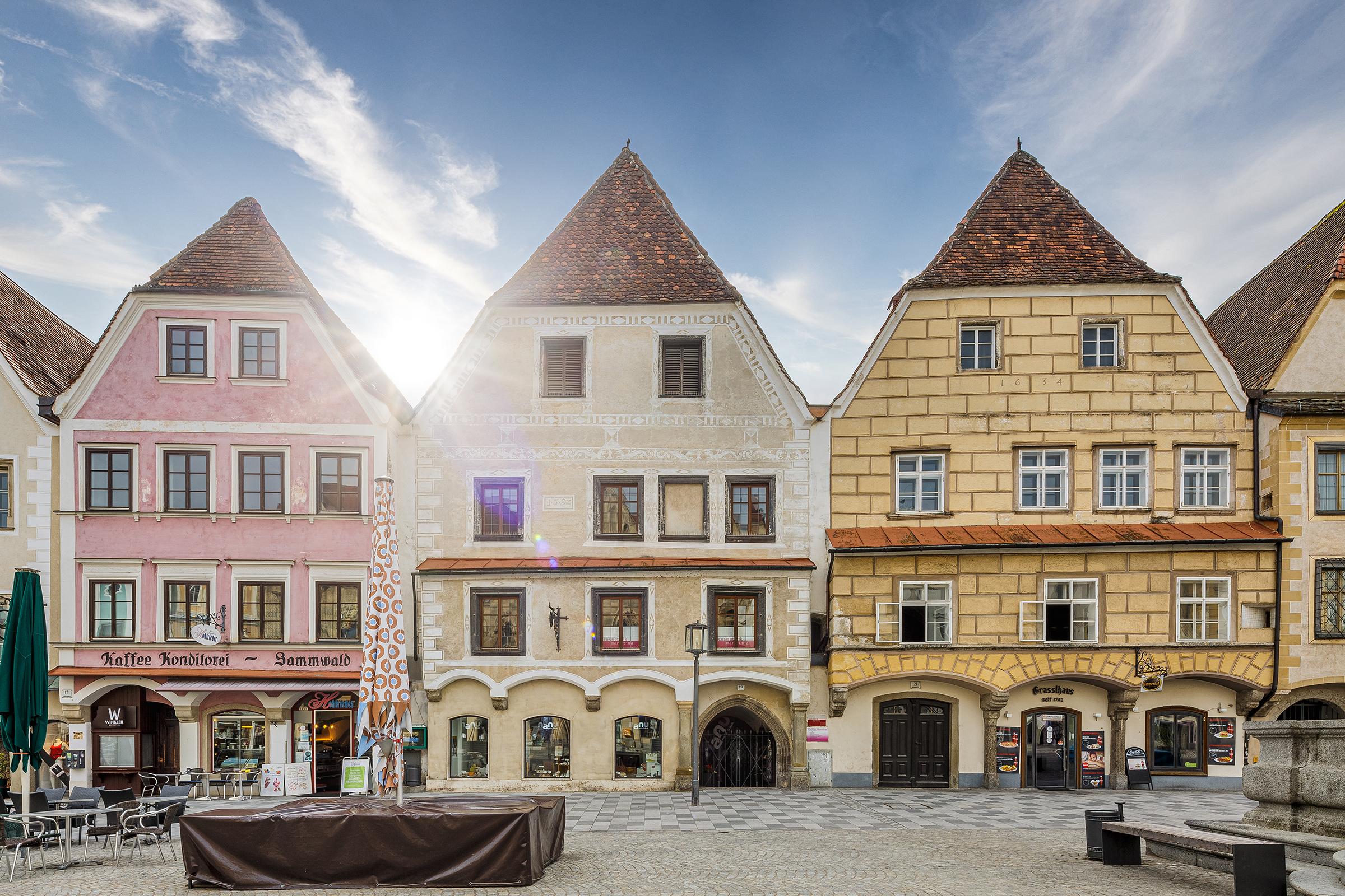 Höflich, wo Steyr Stadt findet / Front